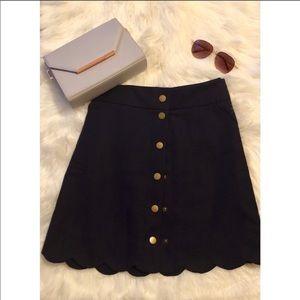 Jcrew Button Skirt | NWT